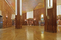 Interior - New York. Chrysler Building, New York City, designed by William Van Alen in 1928