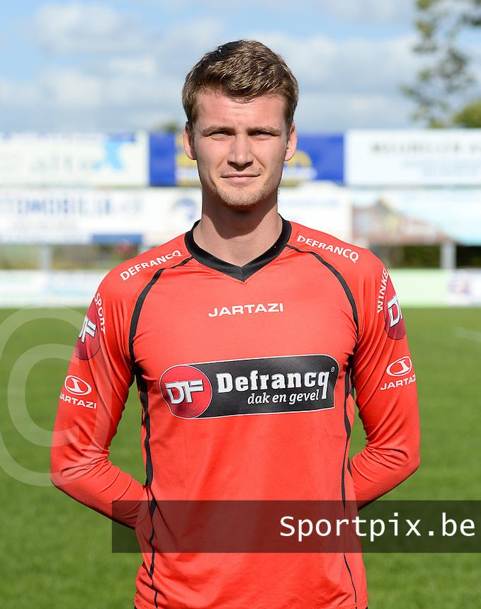 Fotosessie Winkel Sport seizoen 2015 - 2016 : Amaury Rodriguez Da Silva <br /> Foto VDB / Bart Vandenbroucke