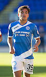 St Johnstone FC&hellip; Season 2016-17<br />Aaron Comrie<br />Picture by Graeme Hart.<br />Copyright Perthshire Picture Agency<br />Tel: 01738 623350  Mobile: 07990 594431