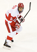 Wade Megan (BU - 18) - The Boston University Terriers defeated the visiting Providence College Friars 4-2 (EN) on Saturday, December 13, 2012, at Agganis Arena in Boston, Massachusetts.