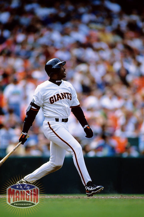 Baseball: San Francisco Giants Barry Bonds. San Francisco, CA 5/30/1998 MANDATORY CREDIT: Brad Mangin
