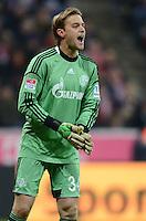 FUSSBALL   1. BUNDESLIGA  SAISON 2012/2013   21. Spieltag  FC Bayern Muenchen - FC Schalke 04                     09.02.2013 Timo Hildebrand (FC Schalke 04)