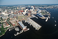 1994 June 06..Redevelopment.Downtown West (A-1-6)..LOOKING EAST.FREEMASON HARBOR.PIER B.NAUTICUS...NEG#.NRHA#..