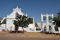 Church of Rhenish Mission in Stellenbosch Winelands, Western Cape Province, South Africa
