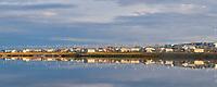 Village of Kaktovik, Barter Island, Beaufort Sea, Alaska.