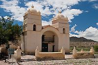 IGLESIA SAN PEDRO NOLASCO DE LOS MOLINOS, VALLES CALCHAQUIES, PROV. DE SALTA, ARGENTINA