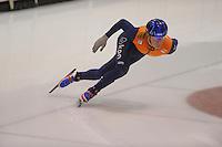 SCHAATSEN: HEERENVEEN; 18-10-2014, IJstadion Thialf, Shorttrack Invitation Cup Thialf, Mark Prinsen, ©foto Martin de Jong