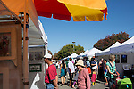 Rows of arts and crafts booths provided shopping opportunities for guests to the Los Altos Fall Festival.