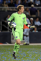Eric Kronberg Sporting KC...Sporting KC were held to a scoreless tie with Chicago Fire in the inauguarl game at LIVESTRONG Sporting Park, Kansas City, Kansas.