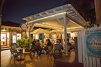 The  Dock restaurant<br /> Wharfside Village<br /> Cruz Bay<br /> St. John<br /> US Virgin Islands