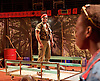 Liberian Girl <br /> at the Royal Court Theatre, London, Great Britain <br /> press photocall<br /> 9th January 2015 <br /> <br /> <br /> <br /> Fraser James as Commdander <br /> <br /> <br /> Photograph by Elliott Franks <br /> Image licensed to Elliott Franks Photography Services