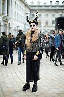 London Fashion Week February 2013 Street Style Photographs