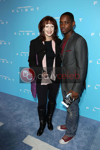 Frances Fisher<br /> at the &quot;Flight&quot; Los Angeles Premiere, Cinerama Dome, Hollywood, CA 10-23-12<br /> David Edwards/DailyCeleb.com 818-249-4998