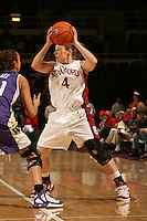 23 February 2006: Clare Bodensteiner during Stanford's 100-69 win over the Washington Huskies at Maples Pavilion in Stanford, CA.
