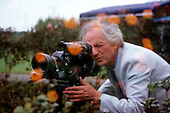 November, 1980. Japan. Francois Reichenbach photographed while working on a documentary about Japan. Born July 3, 1921, died Frebruary 2, 1993, this French director, cinematographer, producer and screenwriter directed 40 films between 1954 and 1993.