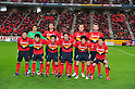 Nagoya Grampus team group line-up, MARCH 10, 2012 - Football /Soccer : 2012 J.LEAGUE Division 1 ,1st sec match between Nagoya Grampus 1-0 Shimizu S-Pulse at Toyota Stadium, Aichi, Japan. (Photo by Jun Tsukida/AFLO SPORT) [0003]