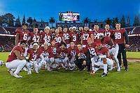 Stanford Football vs Rice, November 26, 2016