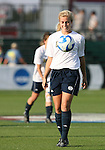 07 December 2007: Notre Dame's Lauren Fowlkes. The Florida State Seminoles defeated the University of Notre Dame Fighting Irish played 3-2 at the Aggie Soccer Stadium in College Station, Texas in a NCAA Division I Womens College Cup semifinal game.