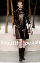 March 23rd, 2012: Tokyo, Japan  A model walks down the catwalk wearing Beautiful People during Mercedes-Benz Fashion Week Tokyo 2012 - 13 Autumn/Winter. The Mercedes-Benz Fashion Week Tokyo runs from March 18-24. (Photo by Yumeto Yamazaki/AFLO)