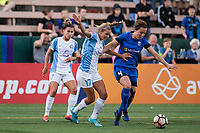 Seattle, WA - Sunday, May 21, 2017: Rachel Corsie during a regular season National Women's Soccer League (NWSL) match between the Seattle Reign FC and the Orlando Pride at Memorial Stadium.