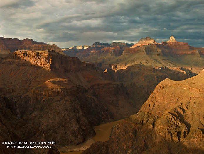 The Sun Sets over Plateau Point.<br /> <br /> This is quite a popular destination for corridor hikers, and for good reason, it is quite a special place.