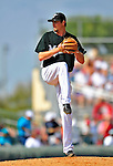 1 March 2009: Florida Marlins' pitcher Andrew Miller on the mound during a Spring Training game against the St. Louis Cardinals at Roger Dean Stadium in Jupiter, Florida. The Cardinals outhit the Marlins 20-13 resulting in a 14-10 win for the Cards. Mandatory Photo Credit: Ed Wolfstein Photo