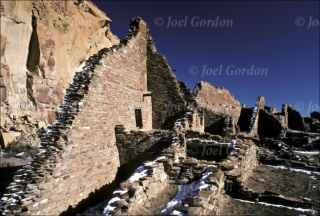 the puebloan society of chaco canyon What we don't know about chaco canyon  the notion that the ancestral puebloan society that thrived between 860 and 1140 ad in chaco canyon collapsed as.