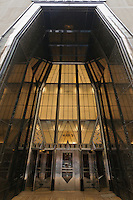 Entrance, New York. Chrysler Building, New York City, designed by William Van Alen in 1928