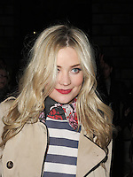 Laura Whitmore spotted arriving at Somerset House London on 15 February for the PPQ event which was part of London Fashion Week   Autumn Winter 2013 Show. Paparazzi Photos