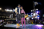 Jay-Z and Alicia Keys - World Series 2009