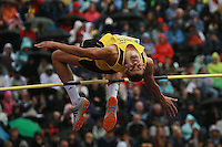 Robbie Grabarz in the in the mens high jump at the Aviva London Grand Prix, Crystal Palace, London
