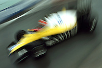 DETROIT, MI - JUNE 5: Eddie Cheever of the United States drives his Renault RE40 02/Renault Gordini during the Detroit Grand Prix FIA Formula One World Championship race on the temporary Detroit Street Circuit in Detroit, Michigan, on June 5, 1983.