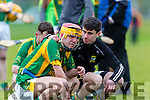 Jordan Brick Kilmoyley is inconsolable  after their defeat to Lismore in the Munster Intermediate final in Mallow on Saturday