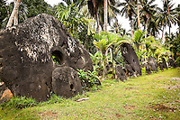 Stone Money Road, Yap Micronesia (Photo by Matt Considine - Images of Asia Collection)