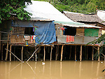 Riverside Dwellings, Siem Reap, Cambodia