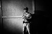 Wlosciejewki 25.07.2009 Poland<br /> Tomek &quot;Rapid&quot;, He is considered by world elite bodyguards as fastest gunner on the World - Removes the weapons from the holster from the jacket, reloads it and shoots accurately at striker in 0,8 second.<br /> Training of the elite security service by European Security Academy ( its founder is living legend Andrzej Bryl ) and Israeli security forces Shin Bet in E.S.A seat in Wlosciejewki ( Poland ). This is the first course for international elite bodyguards, who will protect VIP's and promoters on the FIFA World Cup in RPA 2010 and UEFA European Cup in Poland and Ukraine 2012<br /> Photo: Adam Lach / Napo Images<br /> <br /> Tomasz &quot;Rapid&quot; przez elite swiatowych ochroniarzy uznawany jest za najszybszego strzelca na swiecie - Wyjmuje bron z kabury spod marynarki, przeladowuje ja i strzela celnie w napastnika w 0.8 sekundy.<br /> Szkolenie elitarnych sluzb ochroniarzy przez European Security Academy ( jej zalozycielem jest zyjaca legenda dr. Andrzej Bryl ) i izraelskie sluzby bezpieczenstwa Shin Bet. To pierwsze szkolenia dla miedzynarodowych elitarnych ochroniarz, ktorzy beda zabezpieczac VIP'ow i organizatorow podczas Mistrzostw Swiata w pilce noznej RPA 2010 i w trakcie Mistrzostw Europy w Polsce i na Ukrainie w 2012.<br /> Fot: Adam Lach / Napo Images