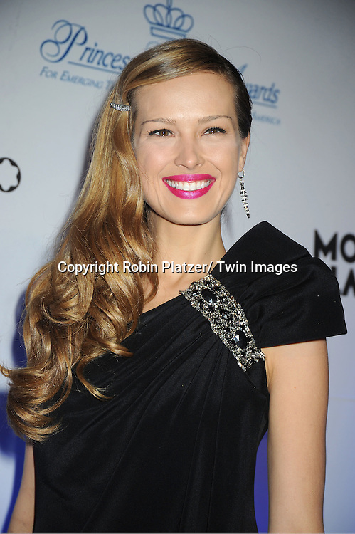 Petra Nemcova attends The Princess Grace Foundation Awards Gala on ..November 1, 2011 at Cipriani 42nd Street in New York City.