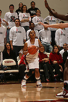 19 January 2006: Markisha Coleman during Stanford's win over the University of California Golden Bears at Maples Pavilion in Stanford, CA.