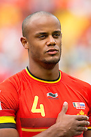 Vincent Kompany of Belgium