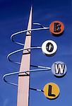 Bowl Sign, Long Beach, Jan. 1989