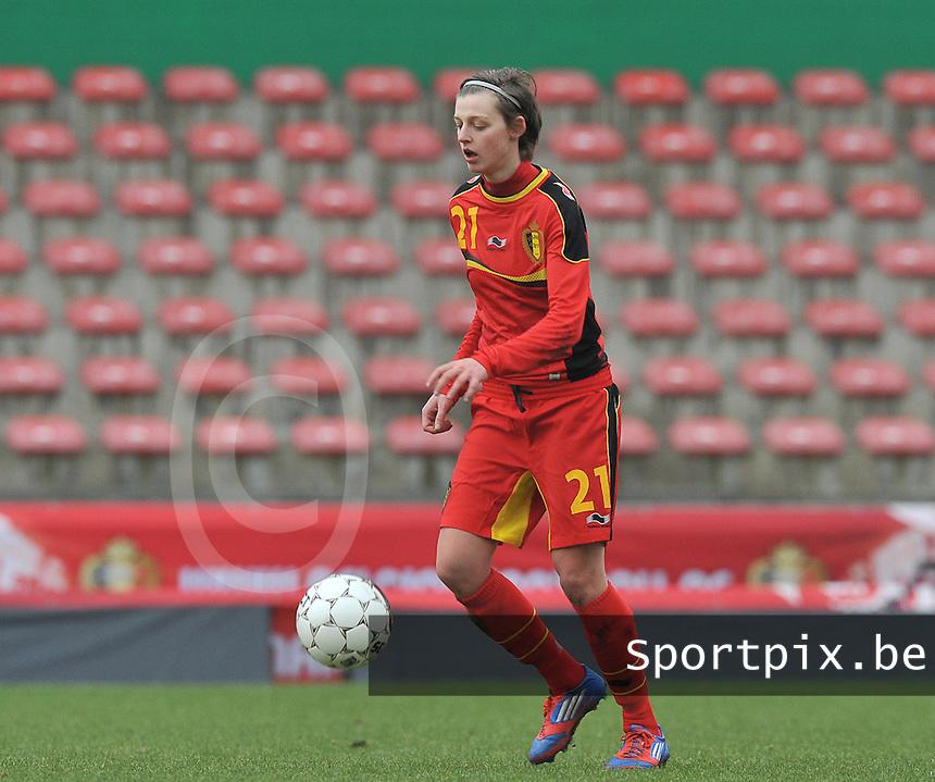 Belgium - The Netherlands : Yana Daniels.foto DAVID CATRY / Vrouwenteam.be