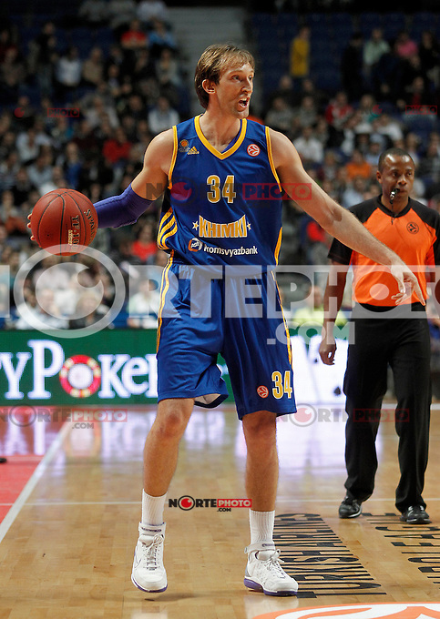 BC Khimki MR's Zoran Planinic during Euroleague 2012/2013 match.November 23,2012. (ALTERPHOTOS/Acero) /NortePhoto