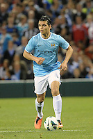 Karim Rekik (44) Manchester City in action..Manchester City defeated Chelsea 4-3 in an international friendly at Busch Stadium, St Louis, Missouri.
