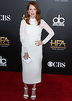 HOLLYWOOD, LOS ANGELES, CA, USA - NOVEMBER 14: Julianne Moore arrives at the 18th Annual Hollywood Film Awards held at the Hollywood Palladium on November 14, 2014 in Hollywood, Los Angeles, California, United States. (Photo by Xavier Collin/Celebrity Monitor)