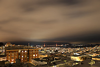 Night Views of San Francisco Bay from NDP - July 2010