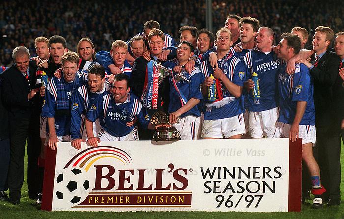 Rangers nine-in-a-row winning team
