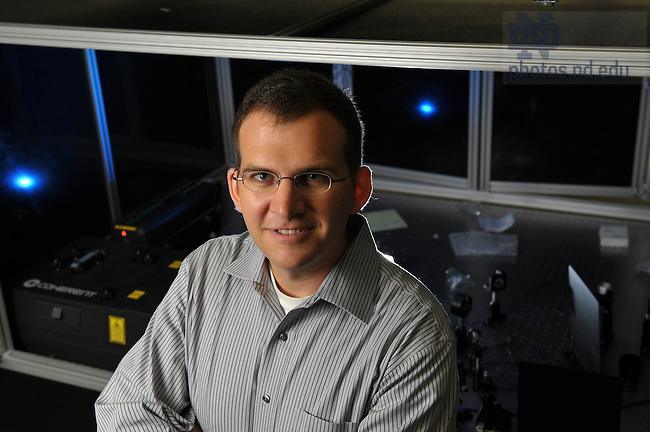 Zachary Schultz for the Chemistry Department website..Photo by Matt Cashore/University of Notre Dame