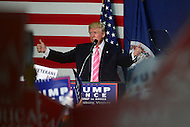 Fredericksburg, VA - August 20, 2016: Businessman and republican presidential candidate Donald J. Trump speaks during a campaign rally at the Fredericksburg Expo Center, in Fredericksburg, VA, August 20, 2016.  (Photo by Don Baxter/Media Images International)