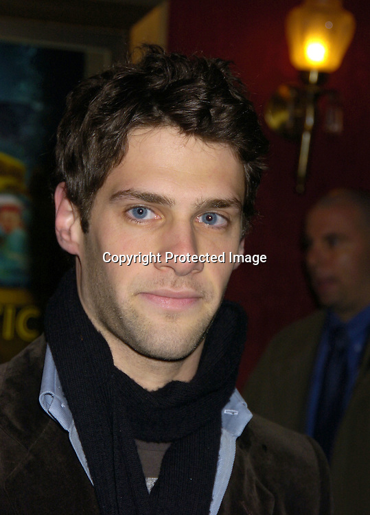 "Justin Bartha ..at The World Premiere of ""The Life Aquatic with Steve Zissou""  on December 9, 2004 at The Ziegfeld Theatre. ..Photo by Robin Platzer, Twin Images"