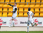 St Johnstone v Inverness Caley Thistle...02.05.15   SPFL<br /> Aaron Doran celebrates his goal<br /> Picture by Graeme Hart.<br /> Copyright Perthshire Picture Agency<br /> Tel: 01738 623350  Mobile: 07990 594431